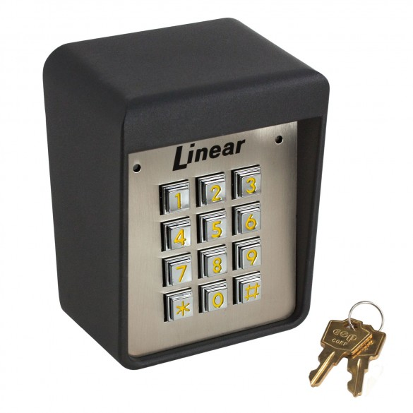 480L Keypad, Residential/Commercial, - Wired Linear (480) 12-24V AC/DC