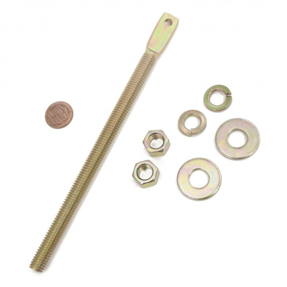 Nice Apollo 10003115 Hardware Kit, Chain, Threaded, Bolt (penny shown for scale)