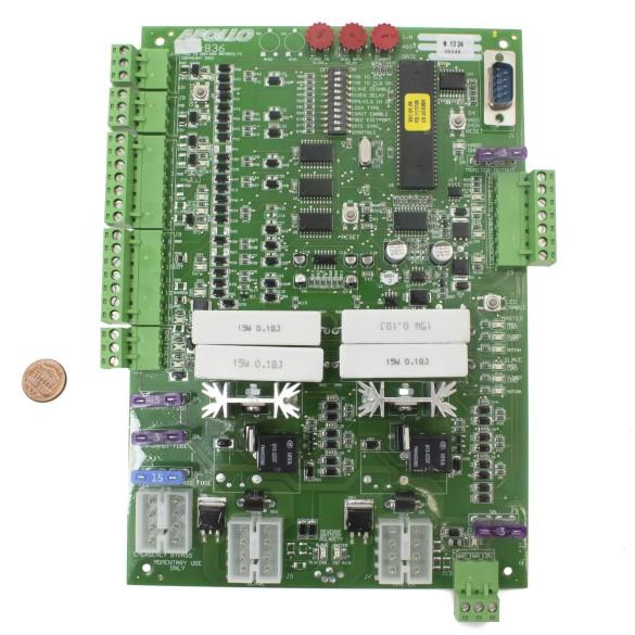 Nice Apollo 836 Control Board (penny shown for scale)