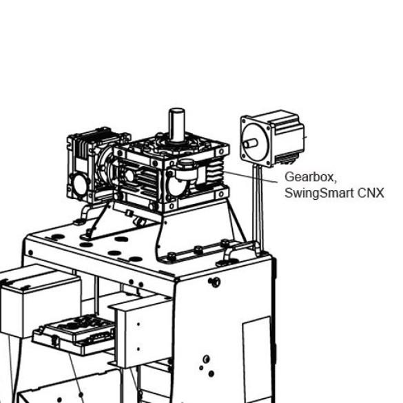 SwingSmart CNX Gearbox - MX4624