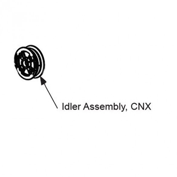 Idler Assembly For SlideSmart CNX - MX4280