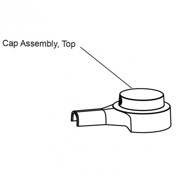 Top Cap Assembly With Lock And Key - MX4365