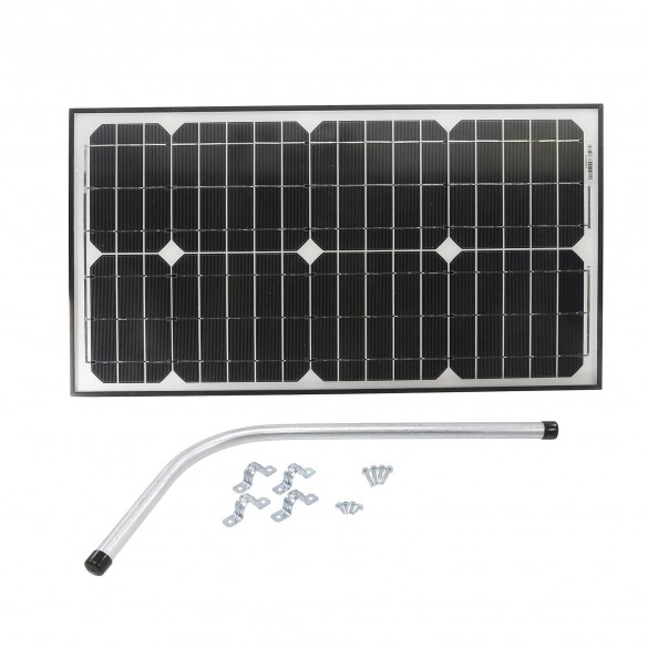 S30W Gate Opener Solar Panel (30 watts) with Mounting Bracket -12V