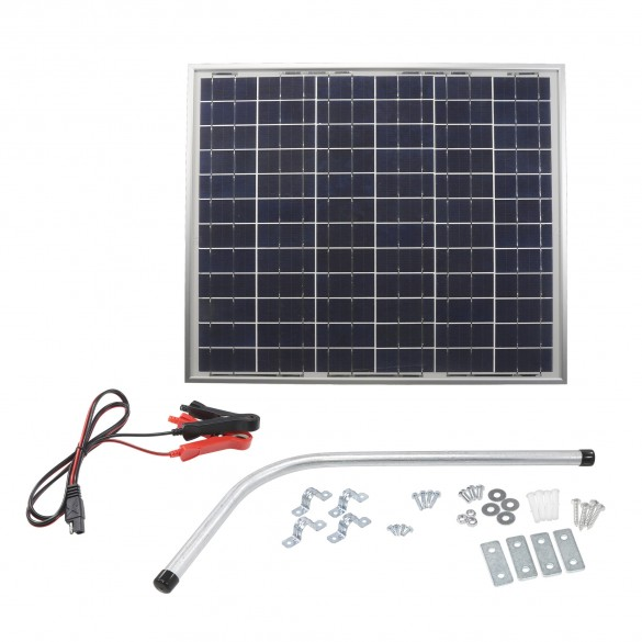 Nice Apollo 215SP Gate Opener Solar Panel (50 watts) with Mounting Bracket 12V