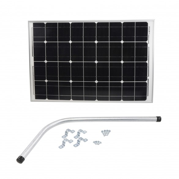 Nice Apollo 216SP Gate Opener Solar Panel (60 watts) with Mounting Bracket 12v