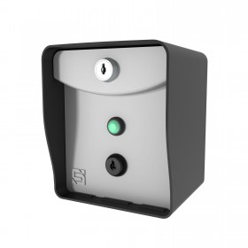Request To Exit Wireless Push Button Post Mount Push Button Keypad for Nice Apollo Gate Openers (433 MHz)