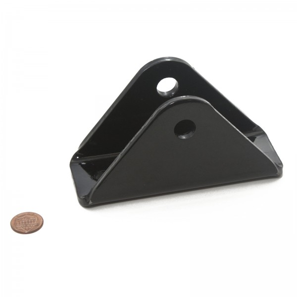 """1/4"""" Gate Bracket (penny shown for scale)"""