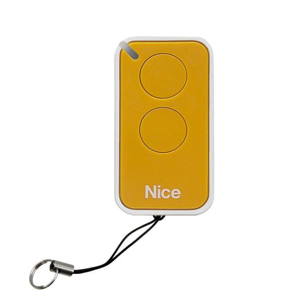 Nice Apollo Inti 2-Channel Mini Transmitter INTI2Y/A - Yellow