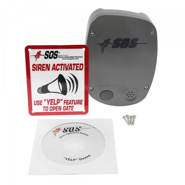 SOS12 Siren-Operated Sensor Emergency Access Vehicle Detector
