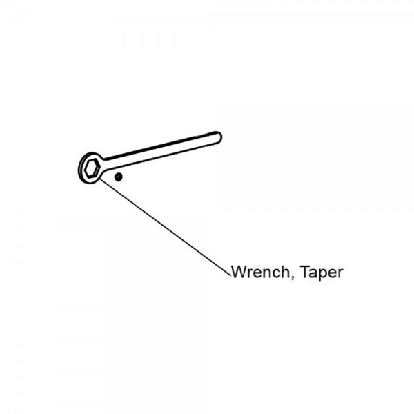 Taper Clamp Adjustment Wrench - MX4438