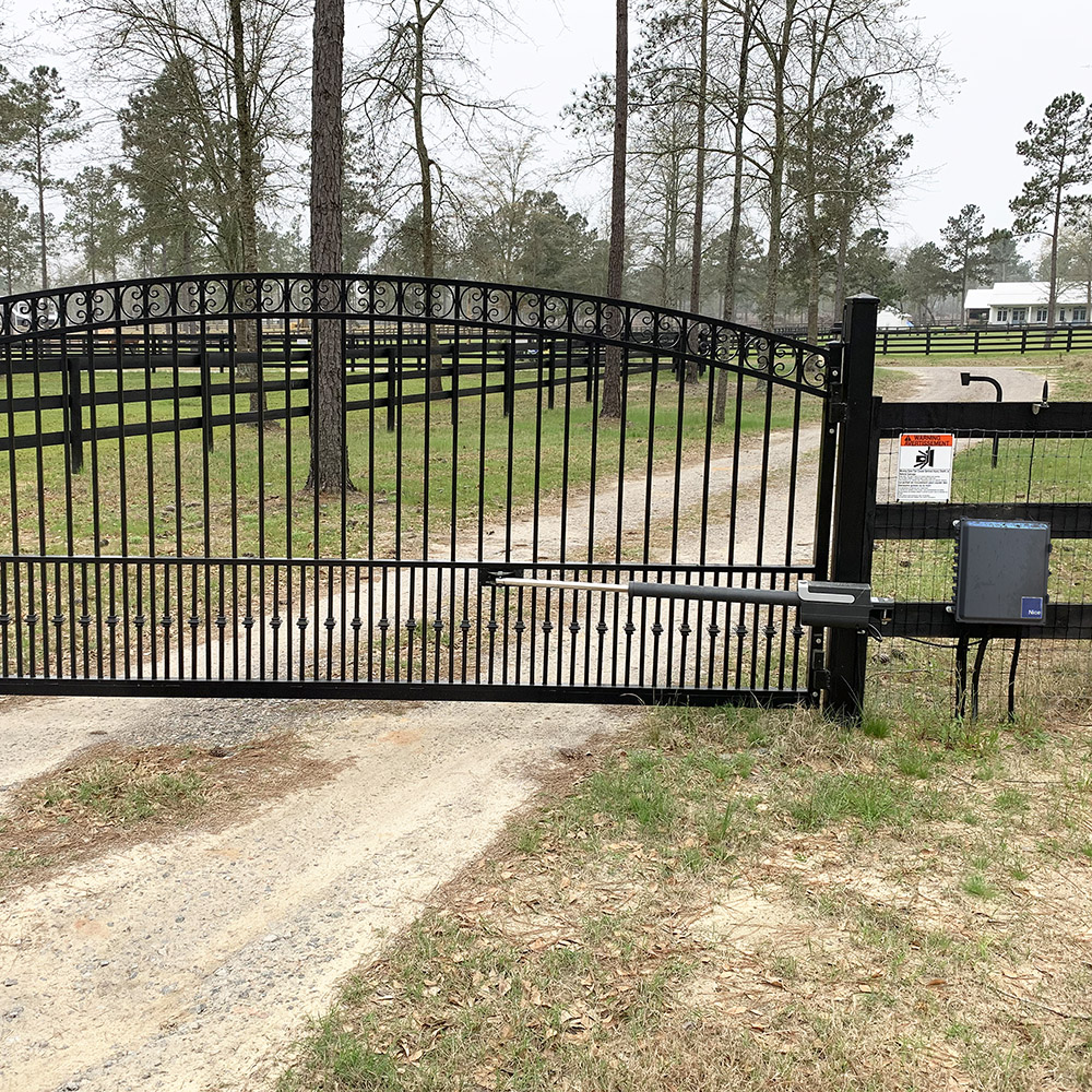 Nice Titan12L Swing Gate Operator Installation