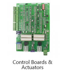control boards and actuators