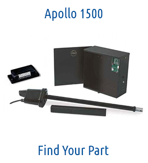 Apollo 1500 Gate Opener Parts